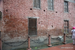 Amritsar -Jallianwala Bagh - Disparos en la pared