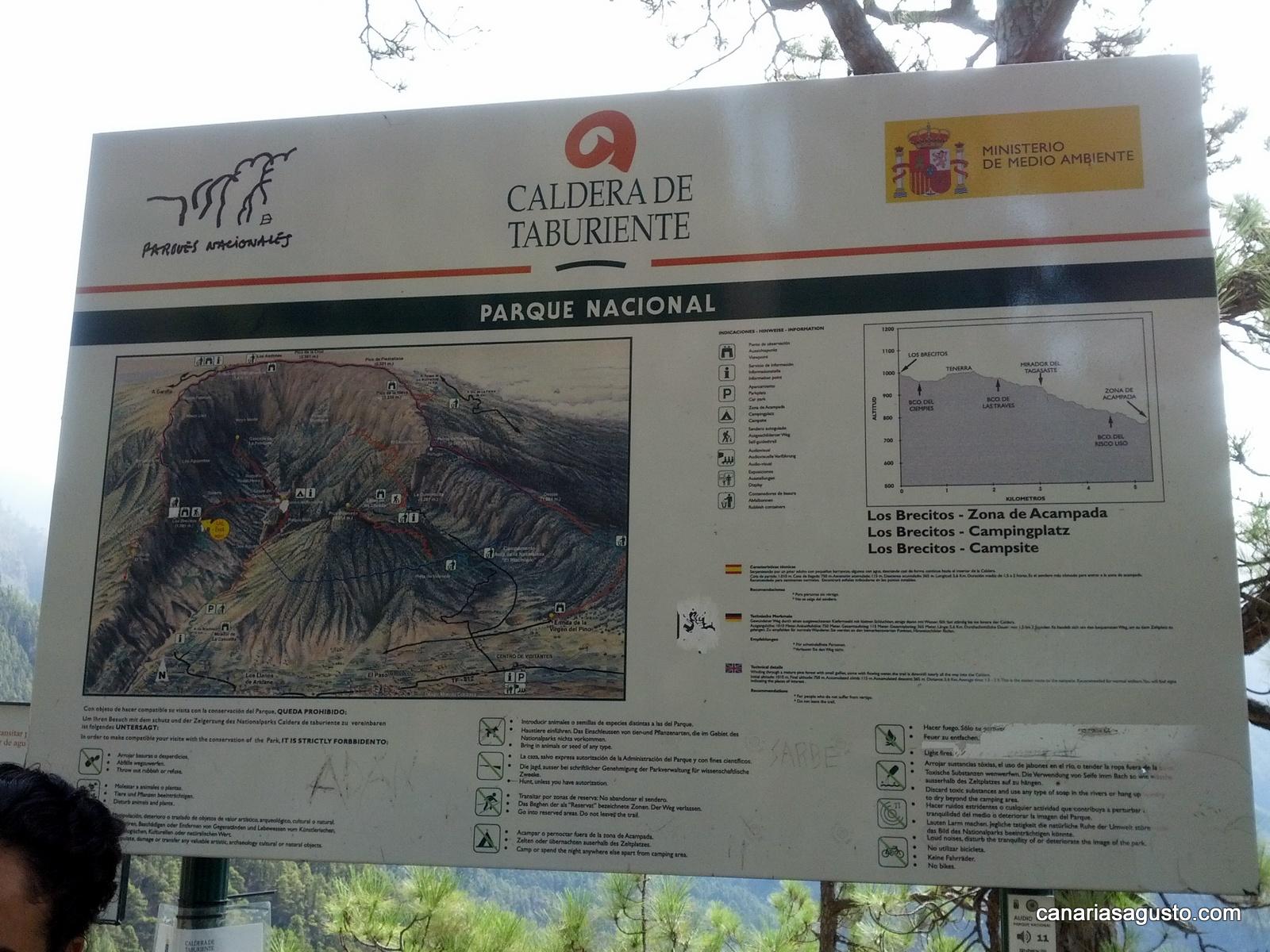 Sendero Los Brecitos - La Palma