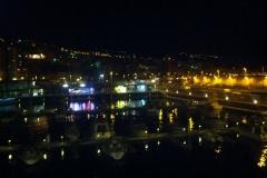 Puerto de La Palma - Llegando anocheciendo - canarias