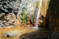 Cascada de los Colores, Barranco de Angustias - La Palma