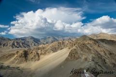 Mountains of Leh, India