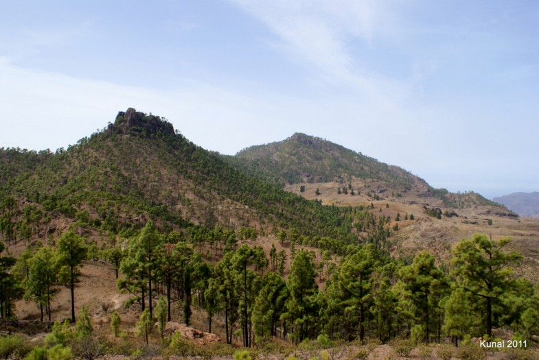 Roque Nublo a Presa de las Niñas