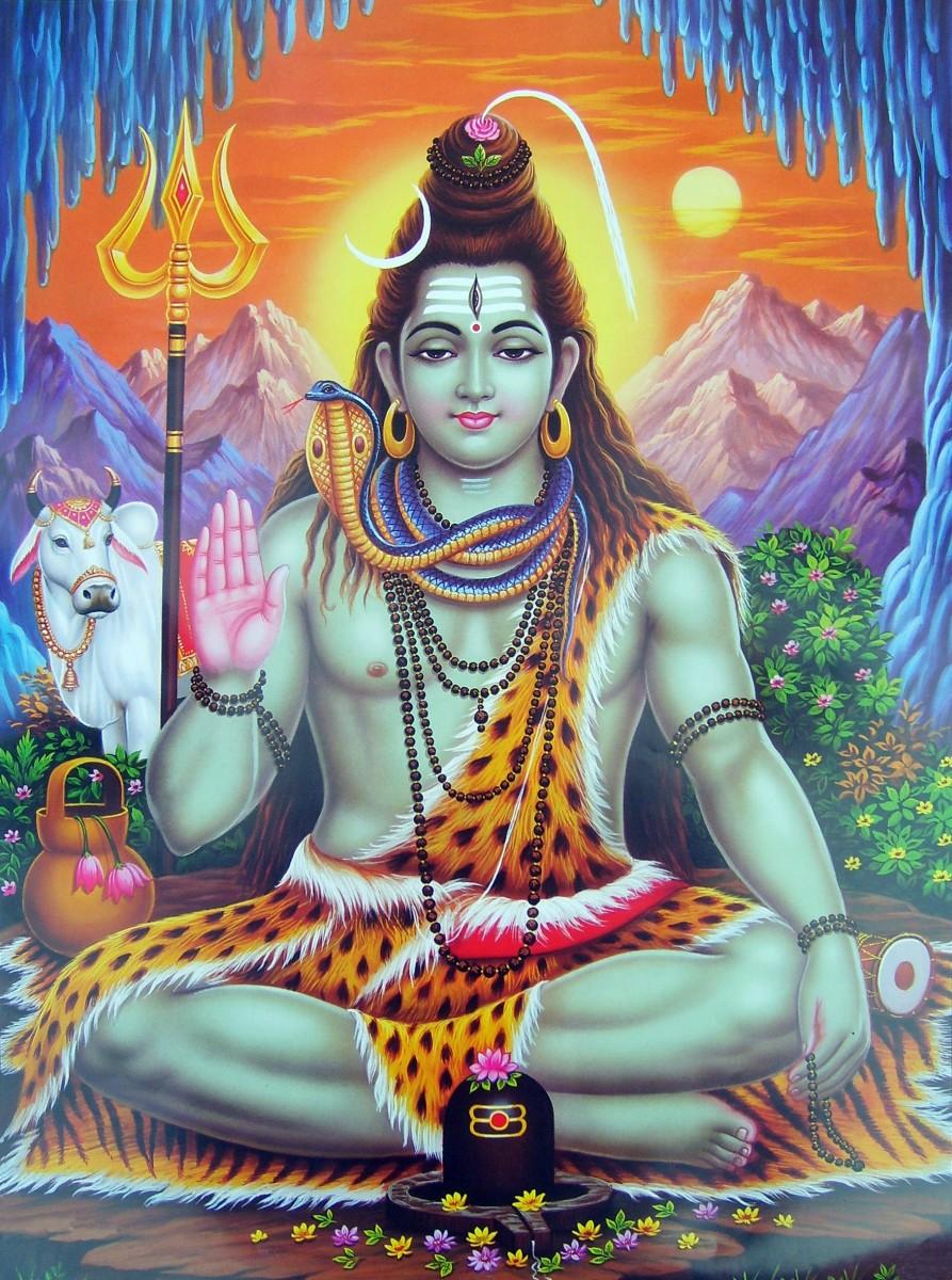 Dibujo de Shiva