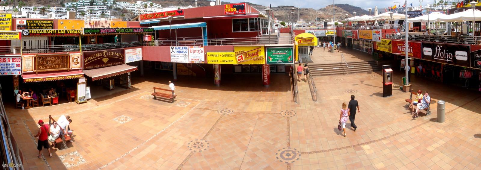 Centro Comercial Puerto Rico Gran Canaria Mogan