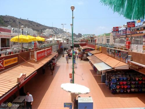 centro comercial puerto rico gran canaria 8 agusto en