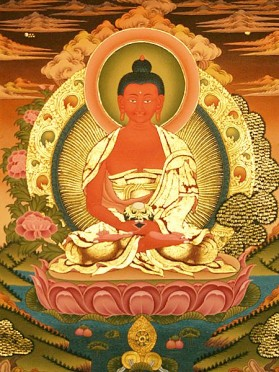 Cinco Budas Dhyani - Amitabha