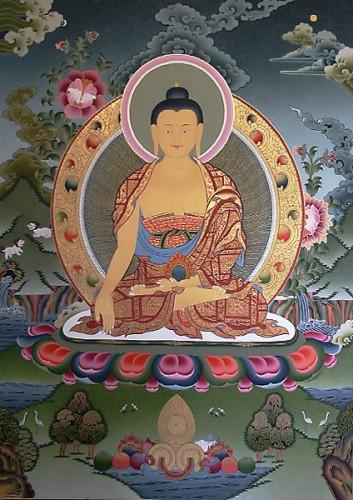 Cinco Budas Dhyani - Ratnasambhava