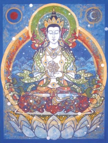 Cinco Budas Dhyani - Vairocana