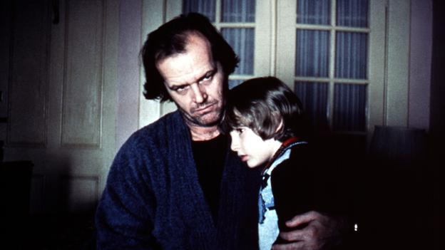 Jack Nicholson y su hijo en el Resplandor - Photo by Moviestore Collection / Rex Features (1635822a) The Shining, Jack Nicholson, Danny Lloyd Film and Television