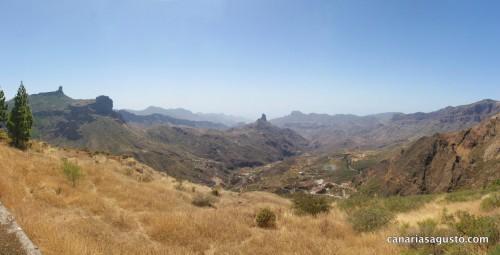 Panorama Centro de Gran Canaria 20/08/2013