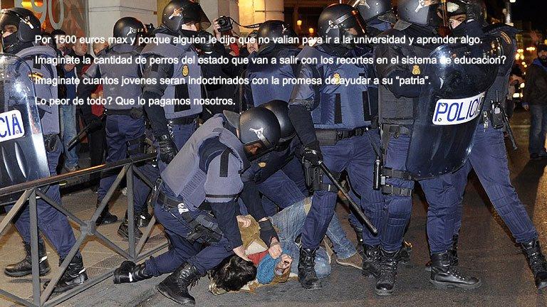forzado policía