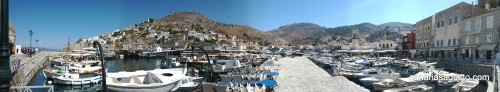 Panorama Isla de Hidra, Grecia