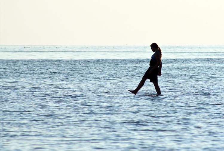cruzando el agua