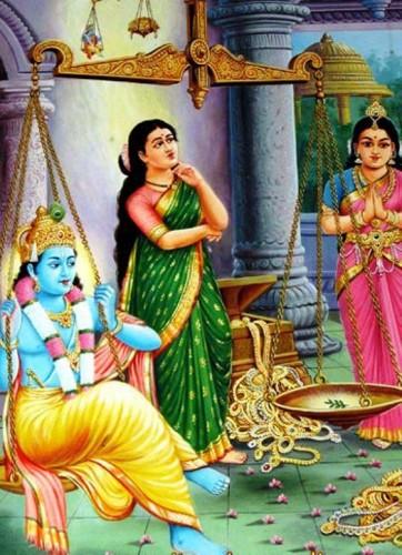 Satyabhama Balanza Krisna