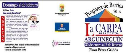 Carpa Cultura Arguineguin 2014