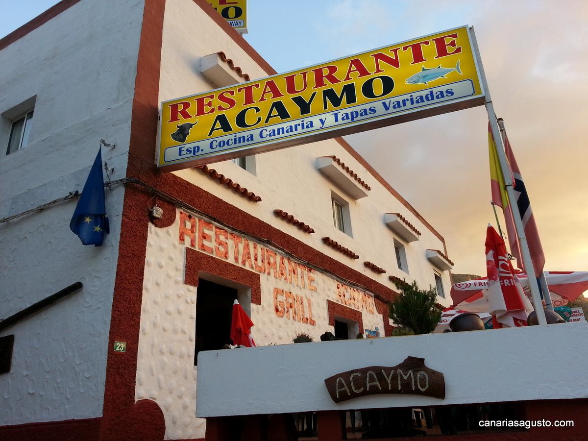 Restaurante Acaymo Mogan