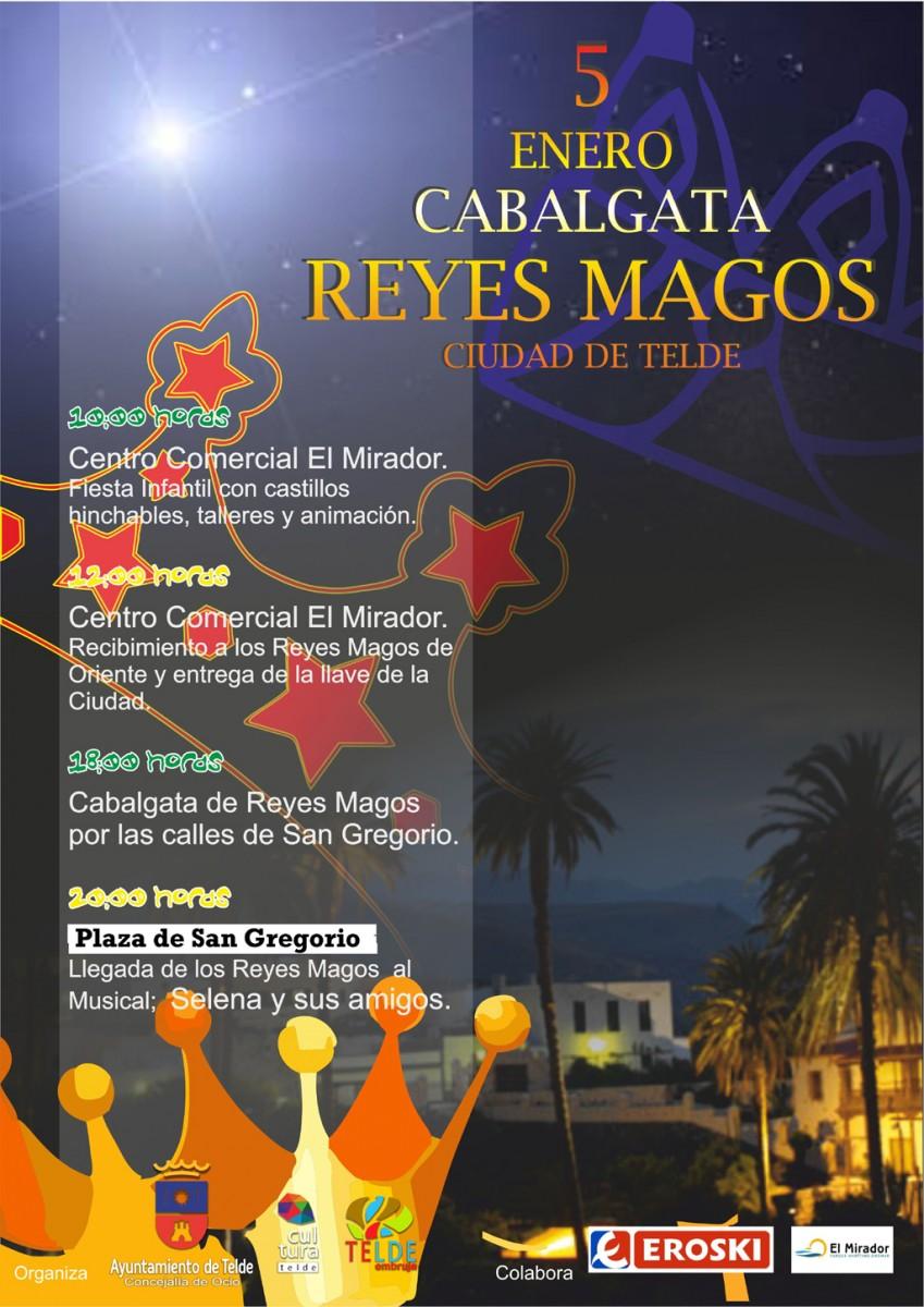 cartel cabalgata reyes 2014 telde