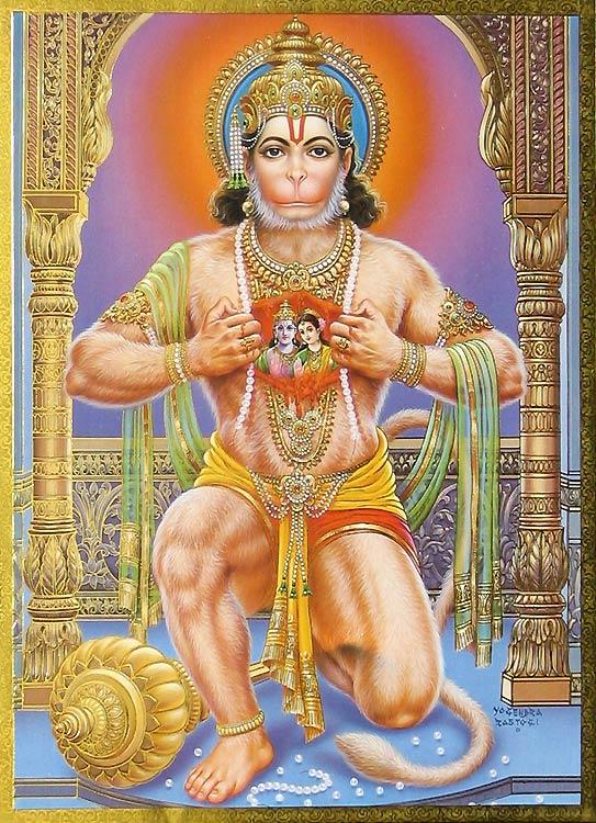 Hanuman - dios - hinduismo