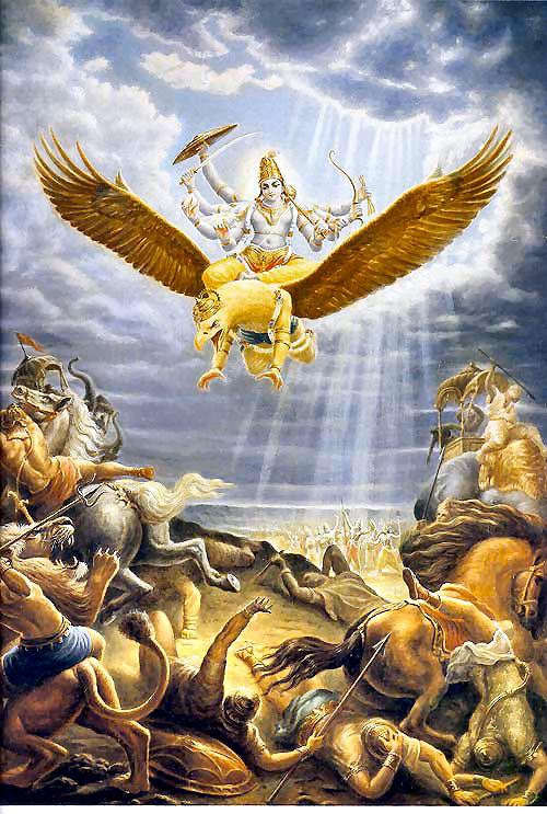 Visnu-Garuda-Dios