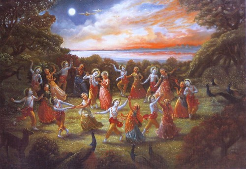 Raas Leela de Krishna