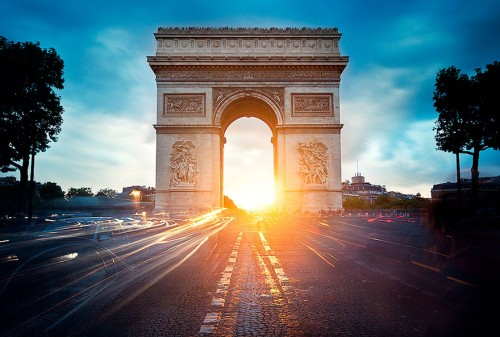 Arc de Triomphe, Paris - Francia