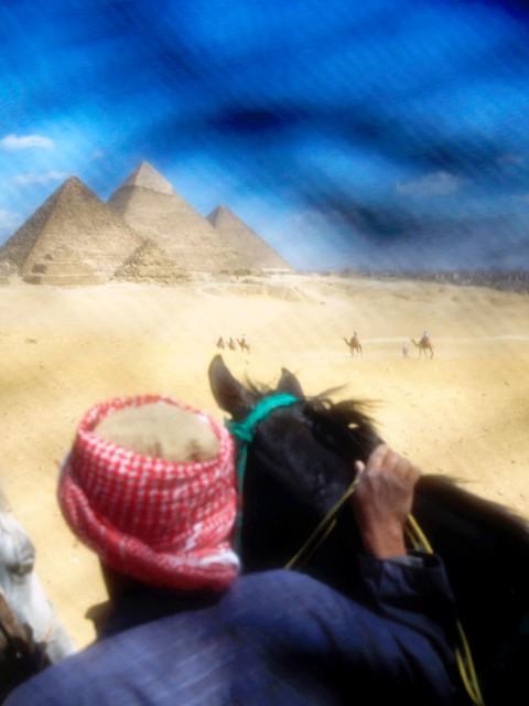 Las Piramides de Giza, Egipto