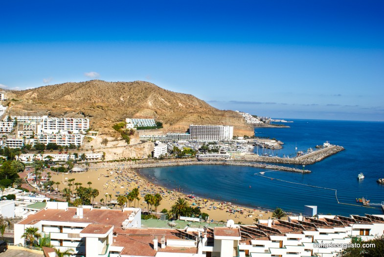 Puerto Rico, Mogan, Gran Canaria
