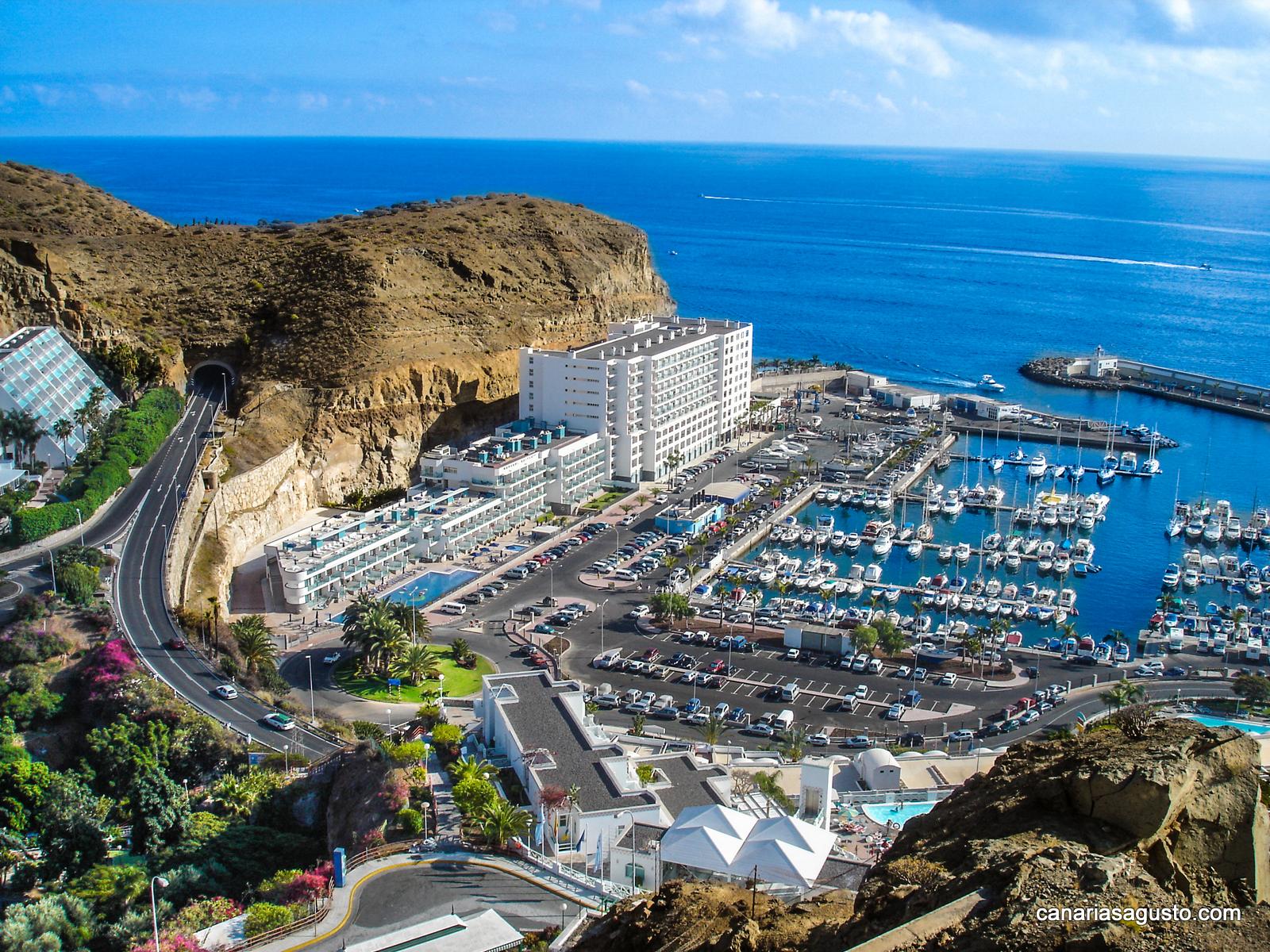 Puerto Escala en Puerto Rico, Mogan, Gran Canaria