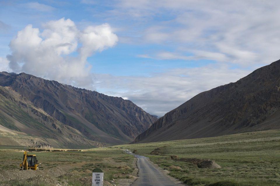 Saliendo del valle - Carretera Sarchu - Leh
