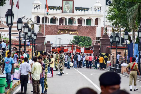 Puerta a pakistan - wagah
