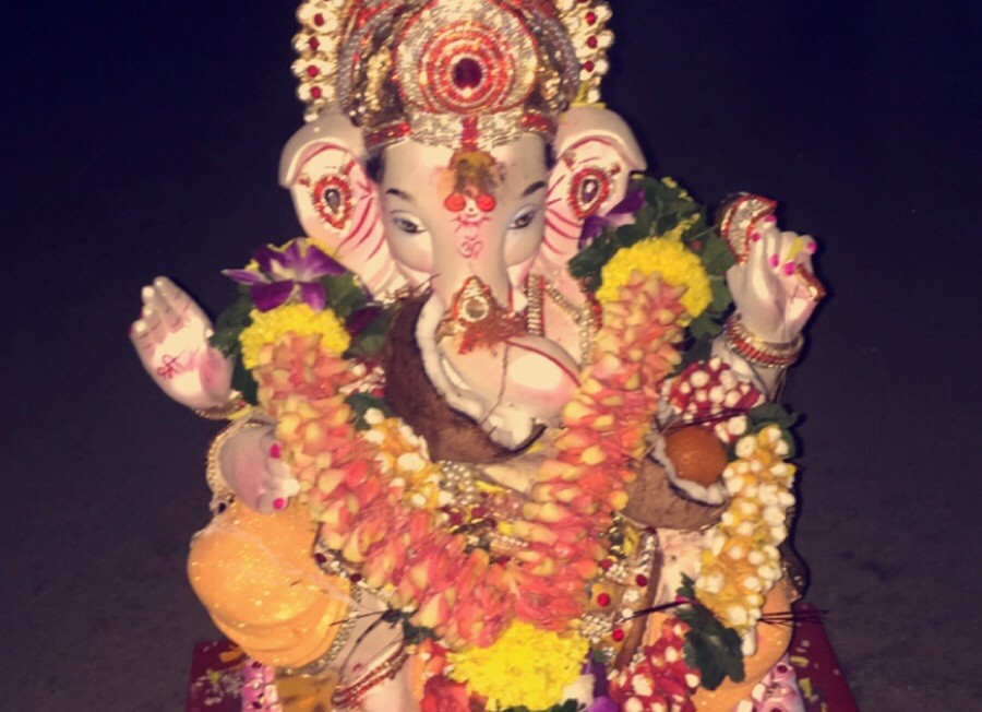 Ganesh Antes de Sumergir