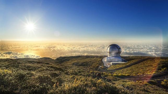 Observatorio Roque de los Muchachos en La Palma
