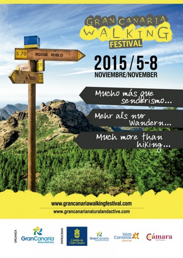 gran canaria walking festival 2015 folleto