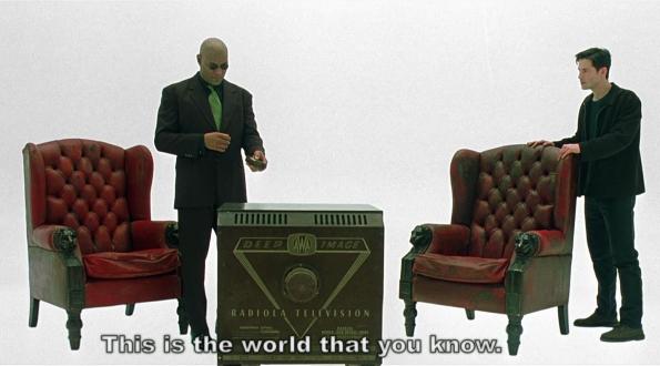 El mundo como lo cononces - Matrix