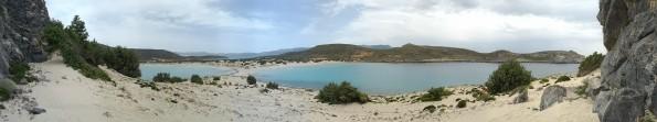 Desde arriba en la montana, Simos - Elafonisos