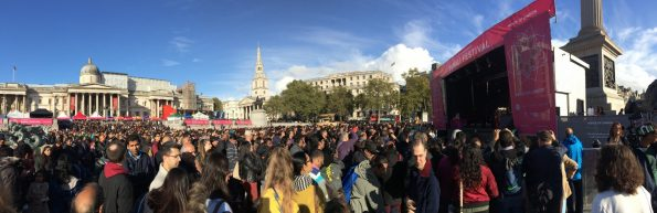 diwali 2016 en trafalgar square