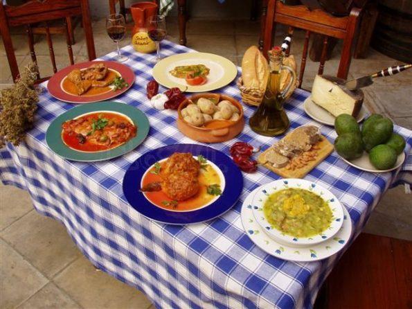 Comida - dia de canarias