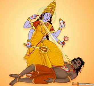 Ekadasi derrotando a Mura