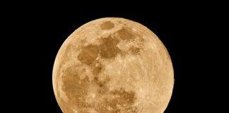 Superluna de Gusano 2019
