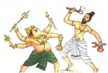Ganesha broken fang