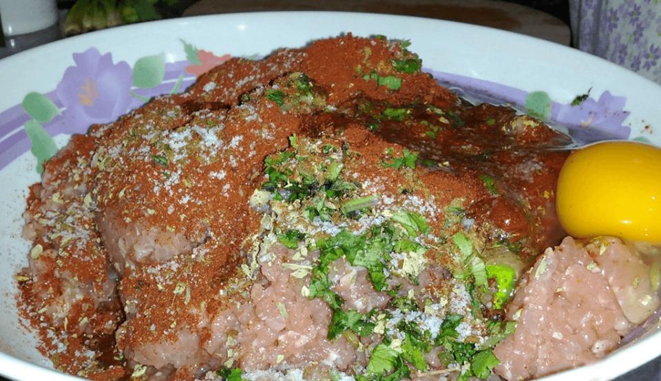 Mezcla Seekh Kebabs de Pollo