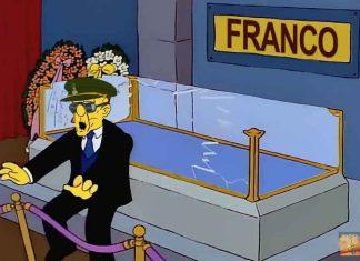 Exhumacion franco