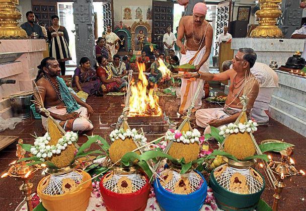 Puthandu en Templo