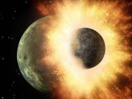 composición de la Luna theia