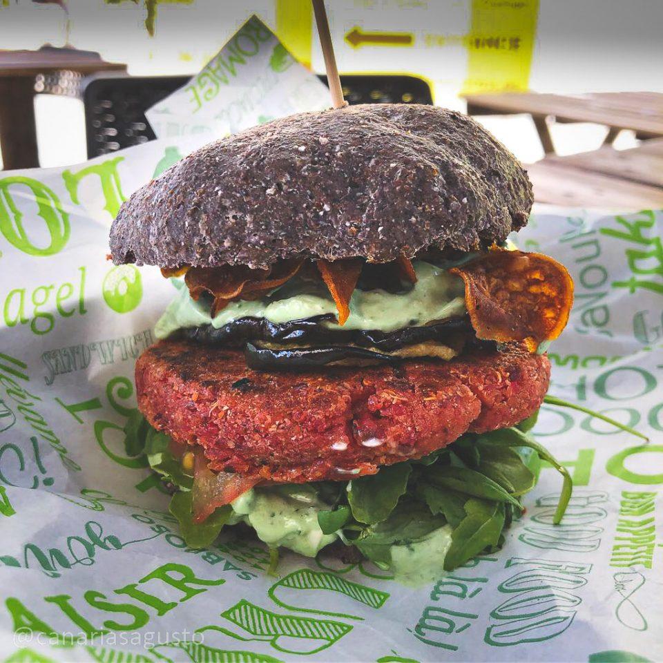 Burger Think Pink - Buenavida Burger Costa Adeje