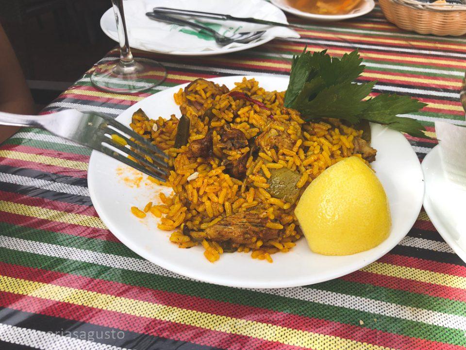arroz canario