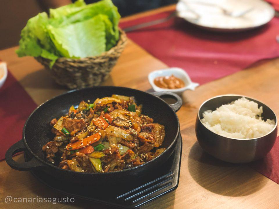 BBQ Jae Yuk Picante
