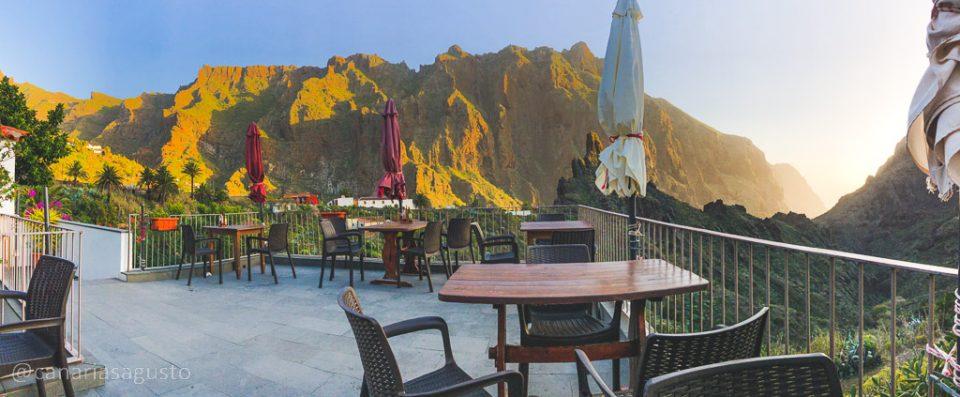 Las Vistas del restaurante el guanche