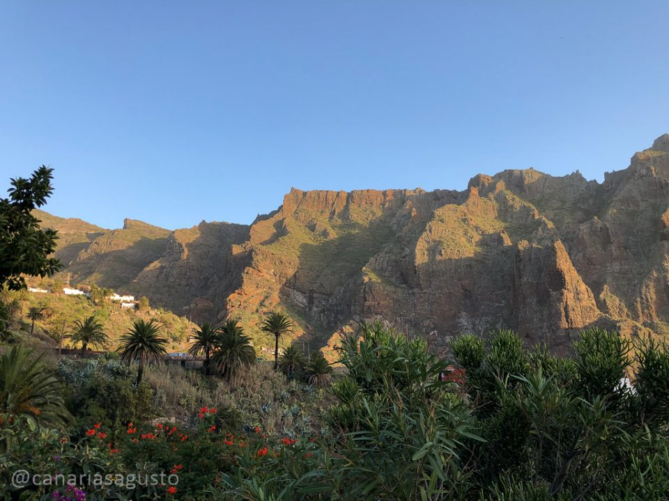 Vistas del valle de masca