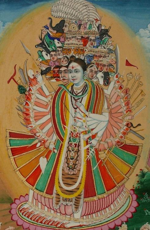Shiva Vishvarupa Jaipur 1880